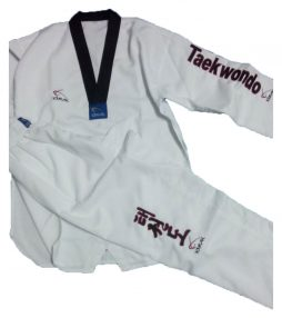 Taekwondo Siyah Yaka Elbise
