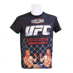 UFC MMA Tişört Slim Fit Likralı Kumaş
