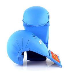 WKF Onaylı Hayashi Karate Eldiveni Mavi