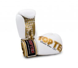 TOP TEN Boks Eldiveni Ultimate Women White/Gold 10 oz 2242-1210
