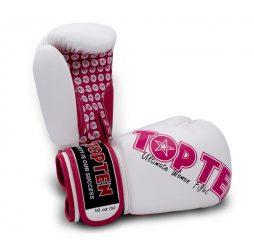 TOP TEN Boks Eldiveni Ultimate Women White/Pink 10 oz 2242-1710