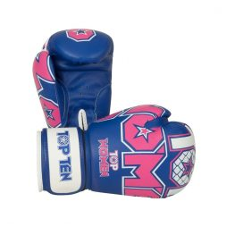 TOP TEN Boks Eldiveni Nubuk II Women Blue/Pink 10 oz 2242-6710